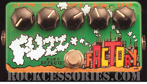 Z.Vex Effects Fuzz Factory Pedal New Classic Free Shipping US