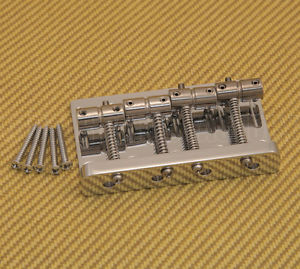 007-4942-000 Fender Squier Chrome Classic Vibe '60s Precision P Bass Bridge