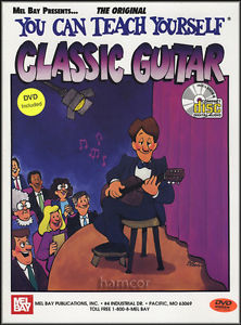You Can Teach Yourself Classic Guitar Music Book &DVD CD Learn to Play Classical