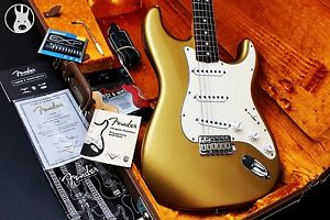✯SUPERB✯ FENDER USA LTD Custom Shop Closet Classic 1966 ✯Aztec Gold✯2004✯