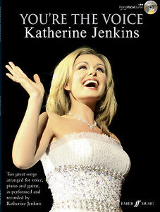 Youre The Voice Katherine Jenkins Classical Piano Guitar FABER Music BOOK & CD