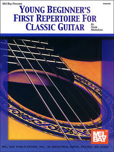 YOUNG BEGINNER'S FIRST REPERTOIRE FOR CLASSICAL GUITAR – GUITAR SONGBOOK