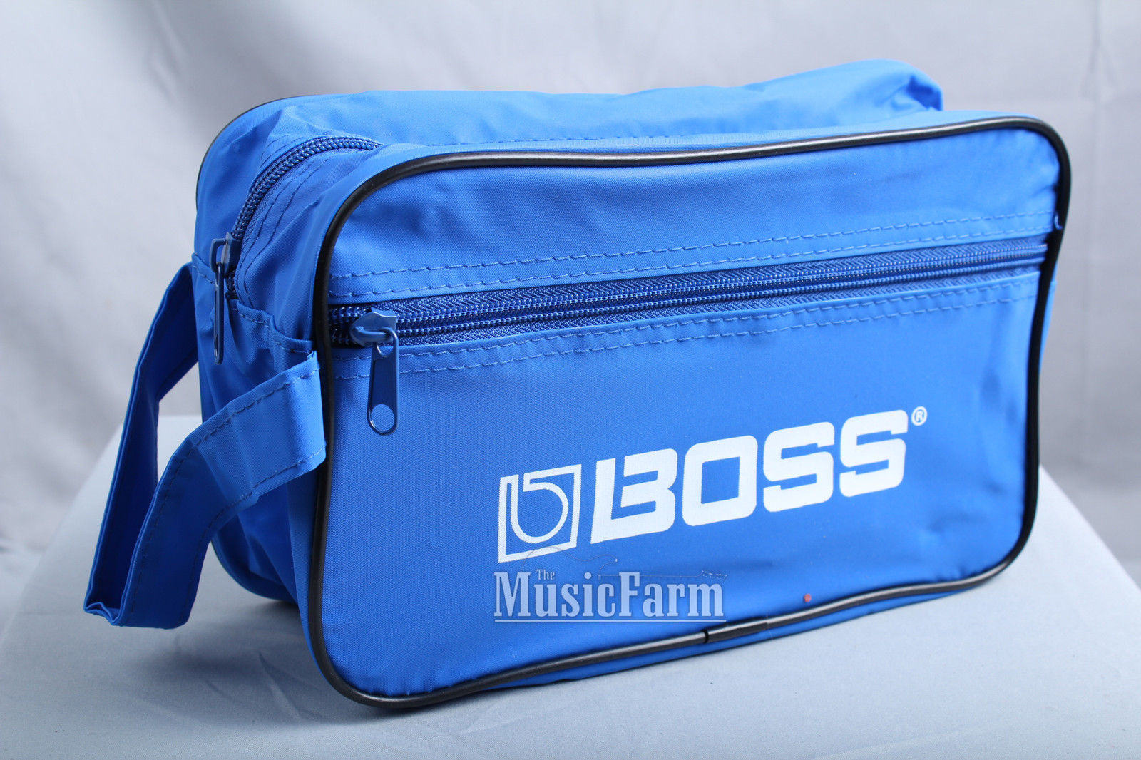 Boss Promo Pack – Strap Guitar Polish Cloth Winder Picks Instrument Cable in Bag