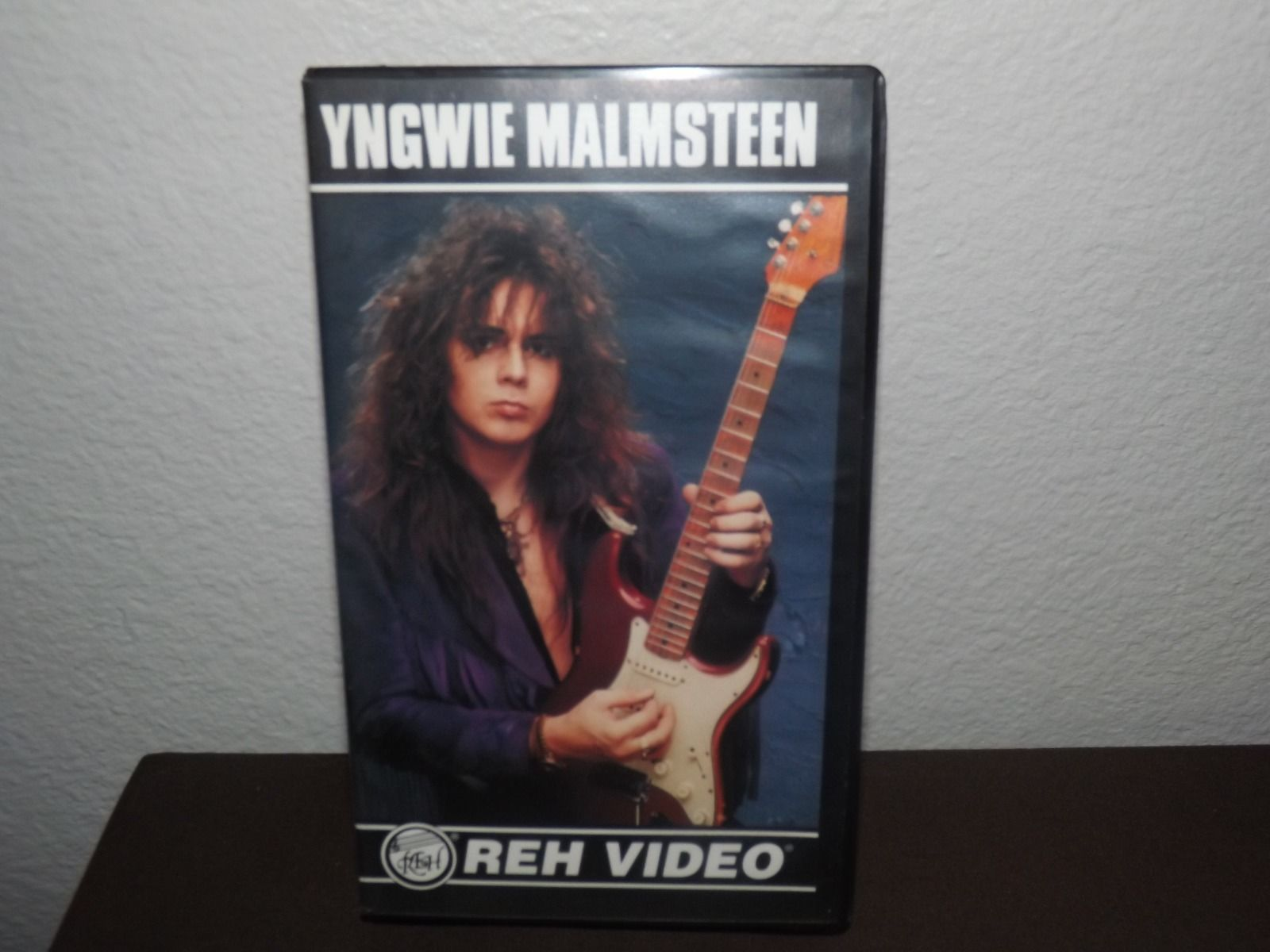 Yngwie Malmsteen REH Guitar Technique Instructional Video VHS 1992 Classic Rare