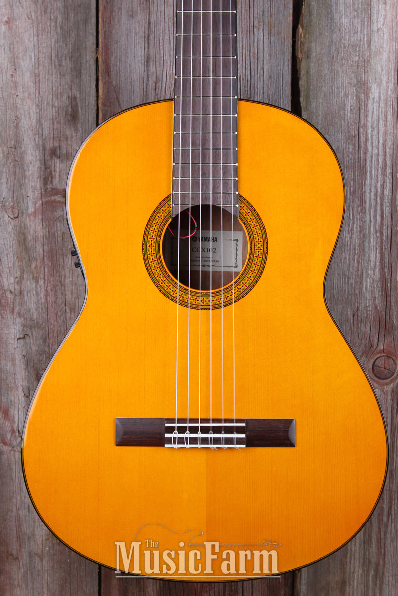Yamaha CGX102 Classical Acoustic Electric Guitar Spruce Top System 68N