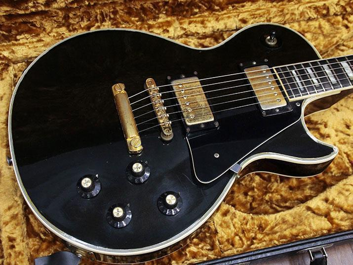 【Vintage】Gibson Les Paul Custom '75 Black FREESHIPPING from JAPAN
