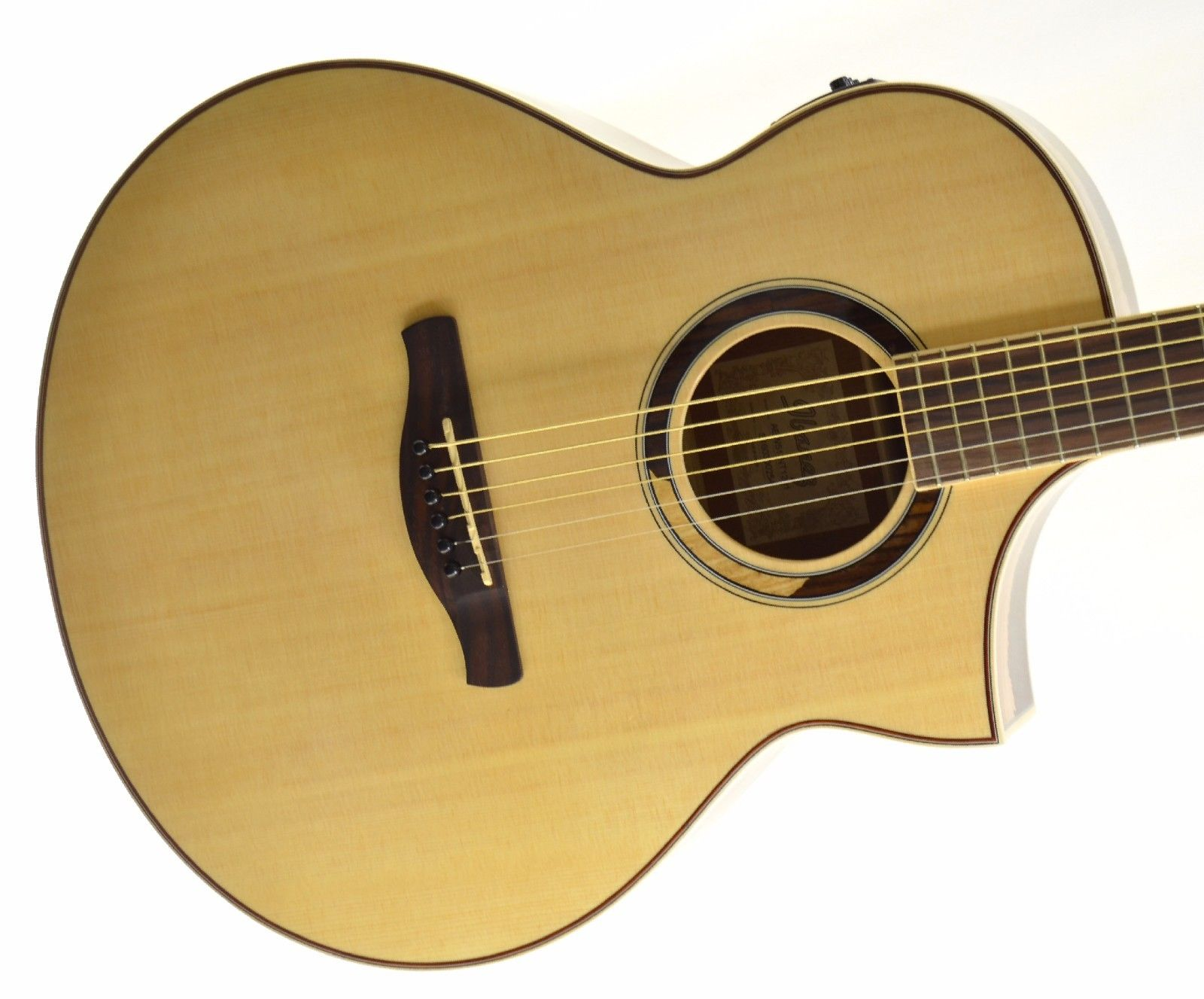 *NEW* Ibanez AEW51 Exotic Tonewood Acoustic Electric Guitar – Natural (C)