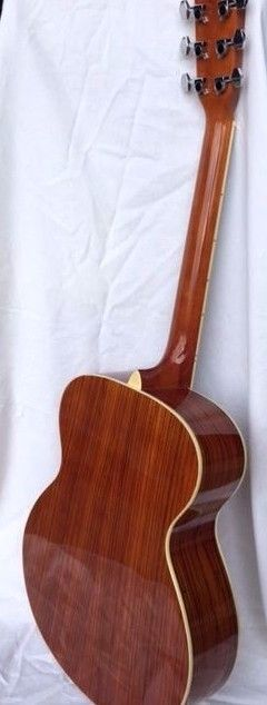 ZEBRANO EXOTIC WOOD 6 STRING FLAT TOP ACOUSTIC GUITAR SELECT TONE WOODS