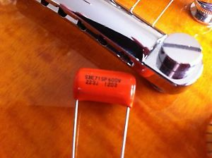 .022uf 600V Sprague 715P Orange Drop Capacitor – Guitar Tone Caps
