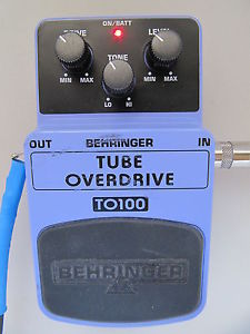 behringer to 100 tube overdrive guitar organ effects pedal tested works 100 nr guitar of china. Black Bedroom Furniture Sets. Home Design Ideas