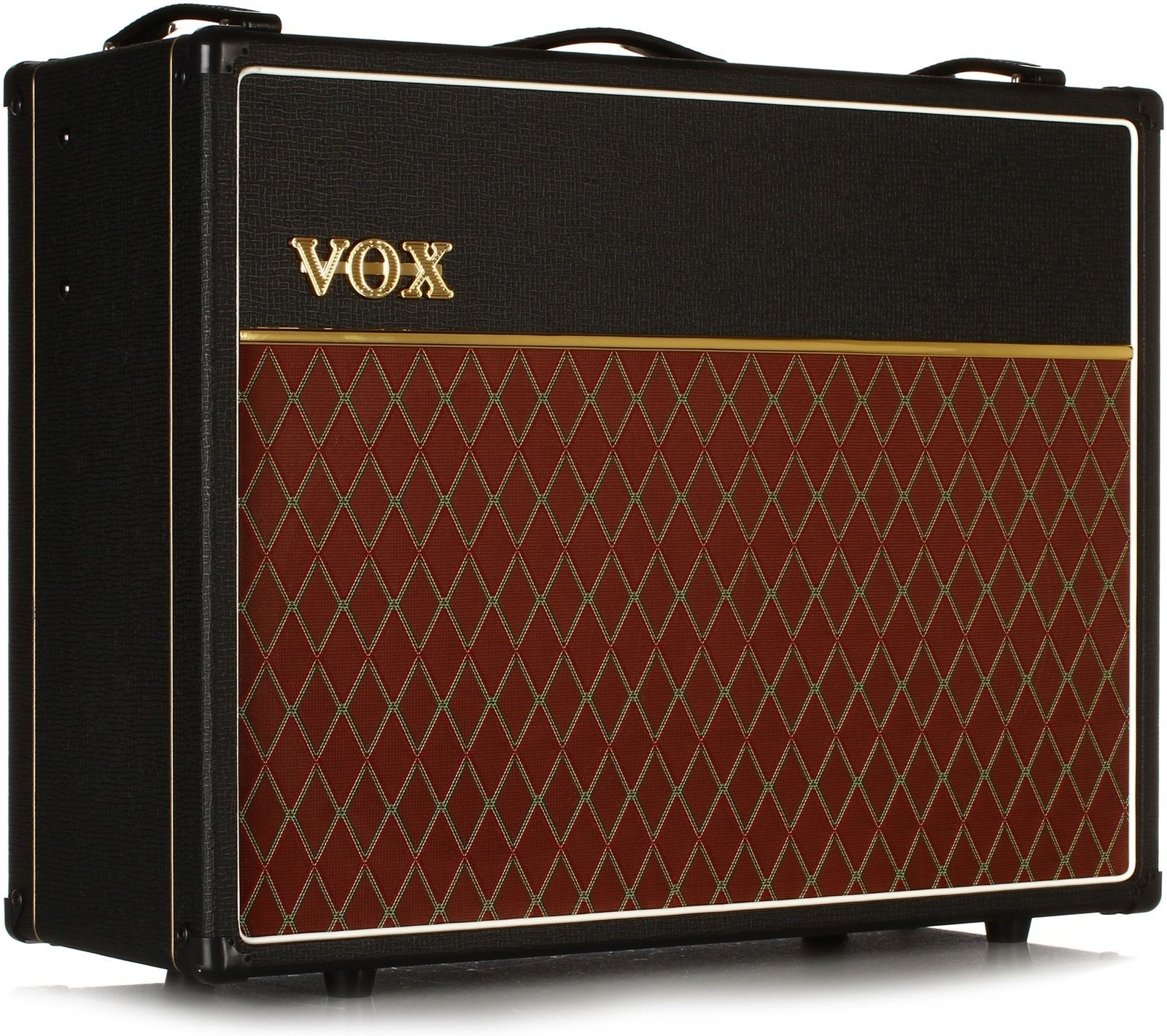 New VOX AC15 Custom Twin 15-Watt All Tube Guitar Combo Amp Amplifier 2×12 Reverb