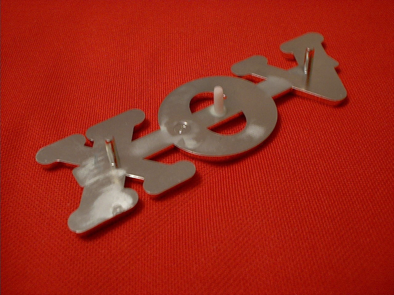 "A NEW GENUINE VOX 4"" GOLD REPLACEMENT LOGO FOR AN AC30 VOX GUITAR AMP GENUINE"