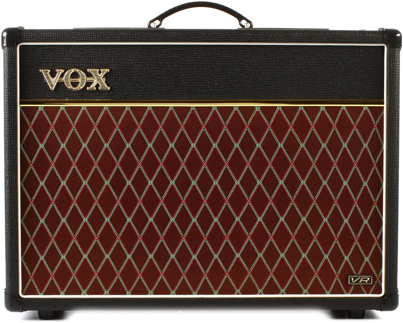 New VOX AC15V Valve Reactor 15-Watt 2-Channel Tube Guitar Combo Amplifier Amp