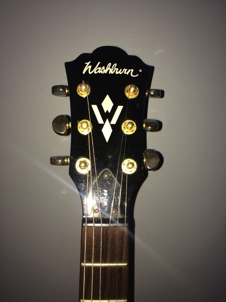 Washburn Wi64 With Grover Tuners Electric Guitar