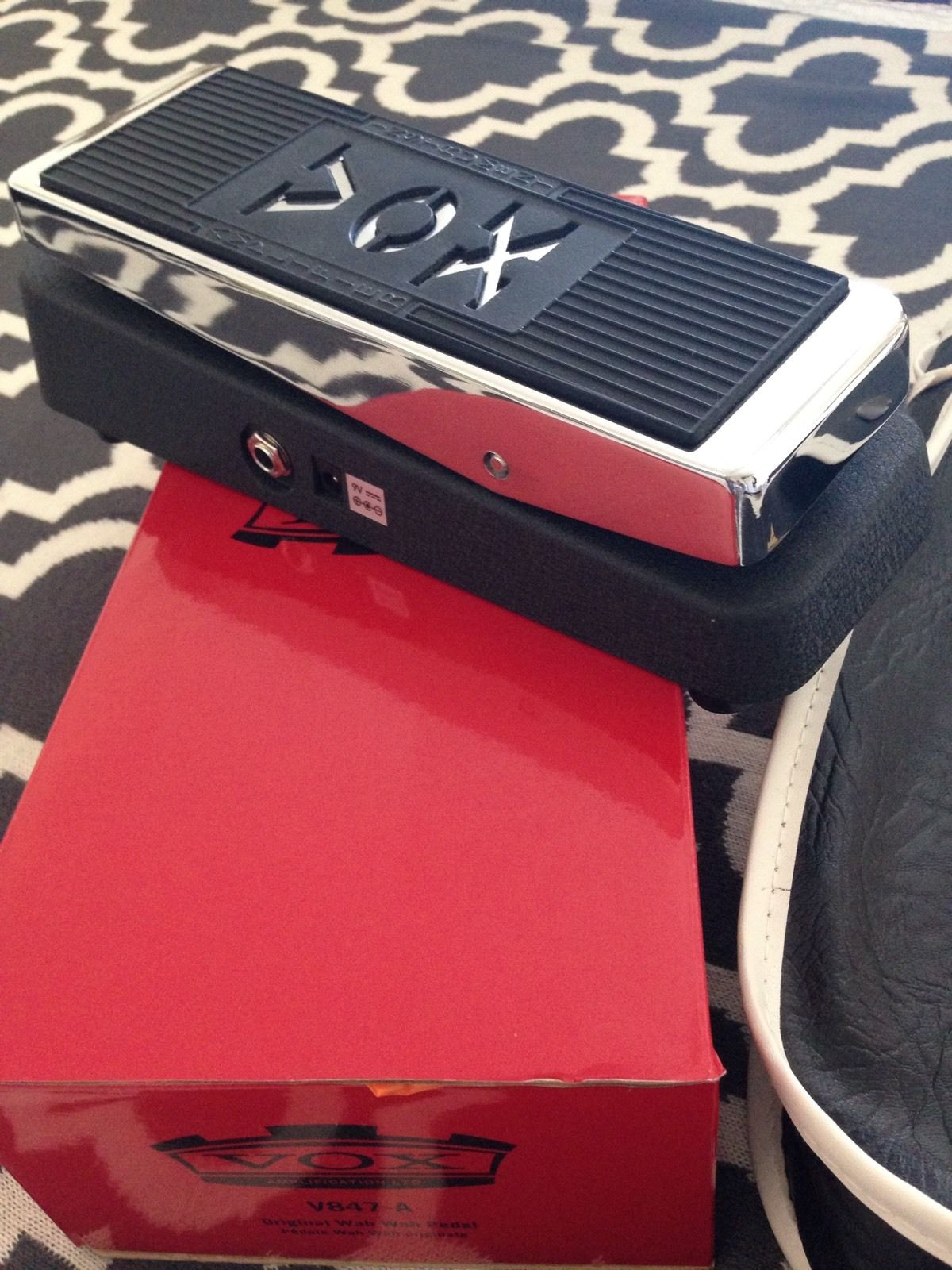 Vox Wah Wah Guitar Effects Pedal