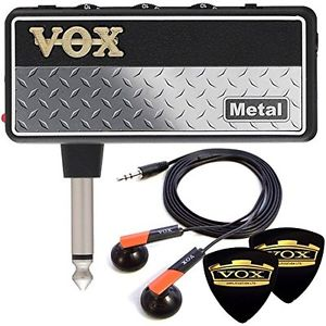 Limited VOX earphone & 2 pick set aG2 mPlug2 Metal AP2MT guitar metal unplugged