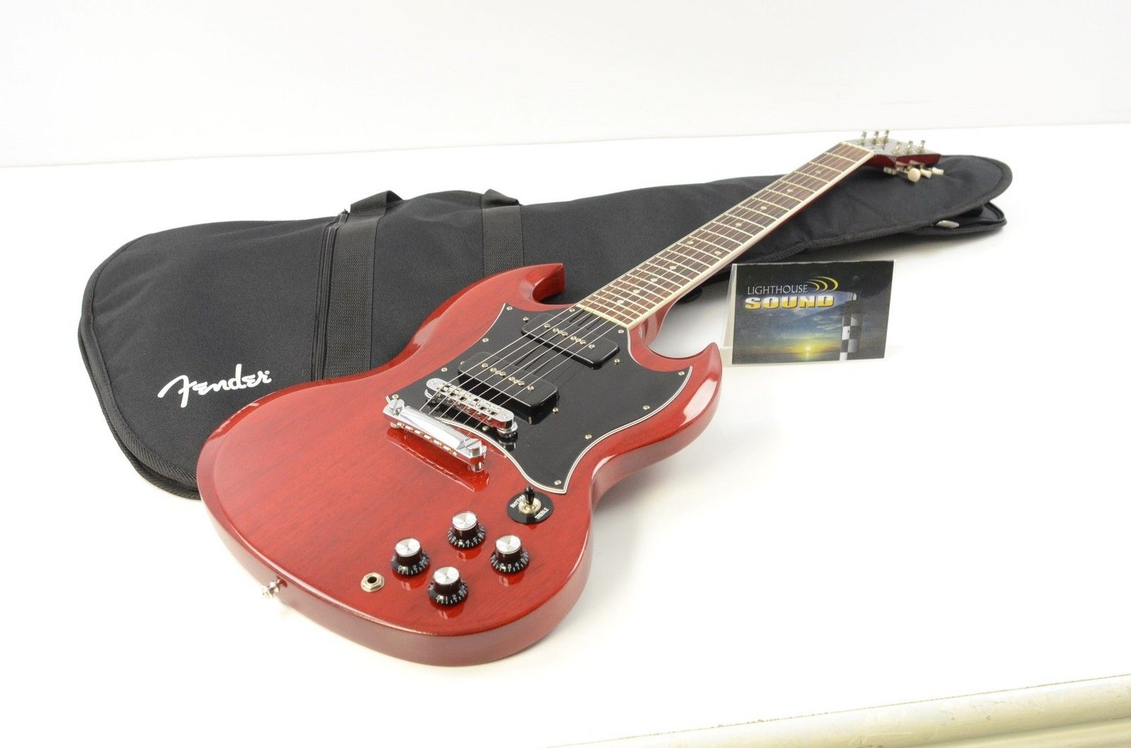 2010 Gibson SG Classic P-90 Electric Guitar – Heritage Cherry w/Gig Bag