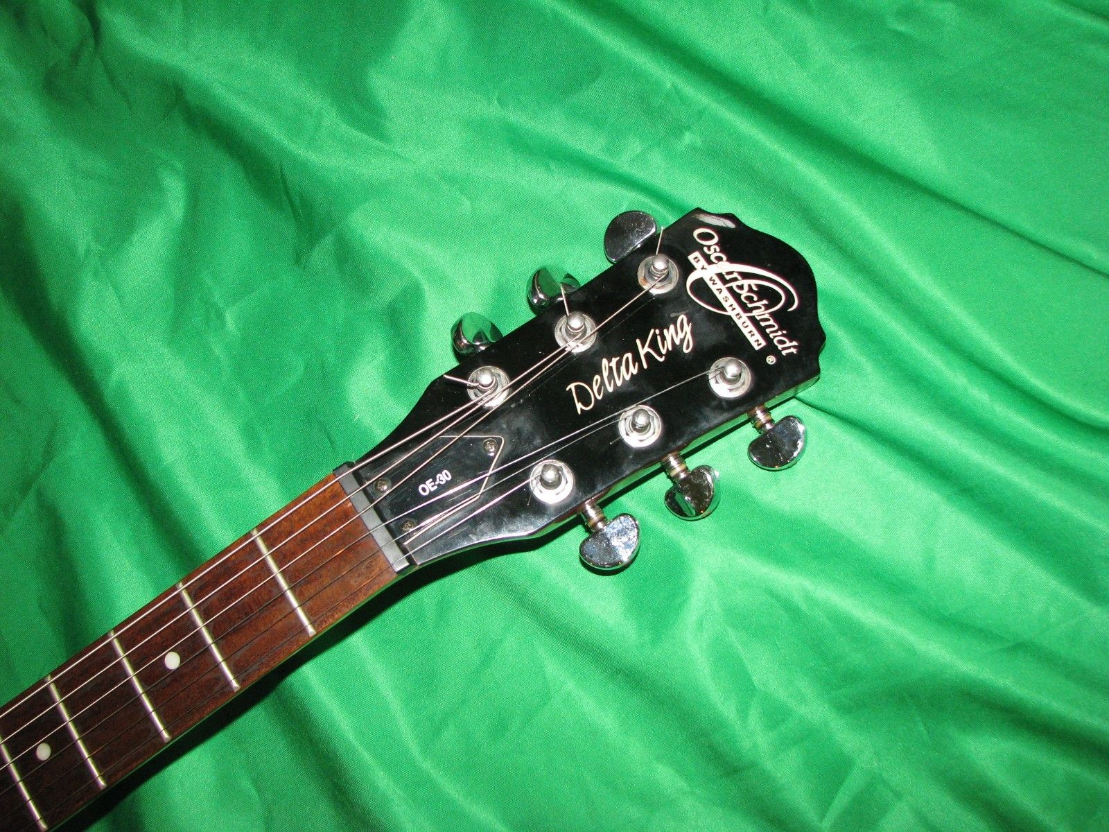 oscar schmidt by washburn delta king oe 30 hollow body electric guitar guitar of china. Black Bedroom Furniture Sets. Home Design Ideas