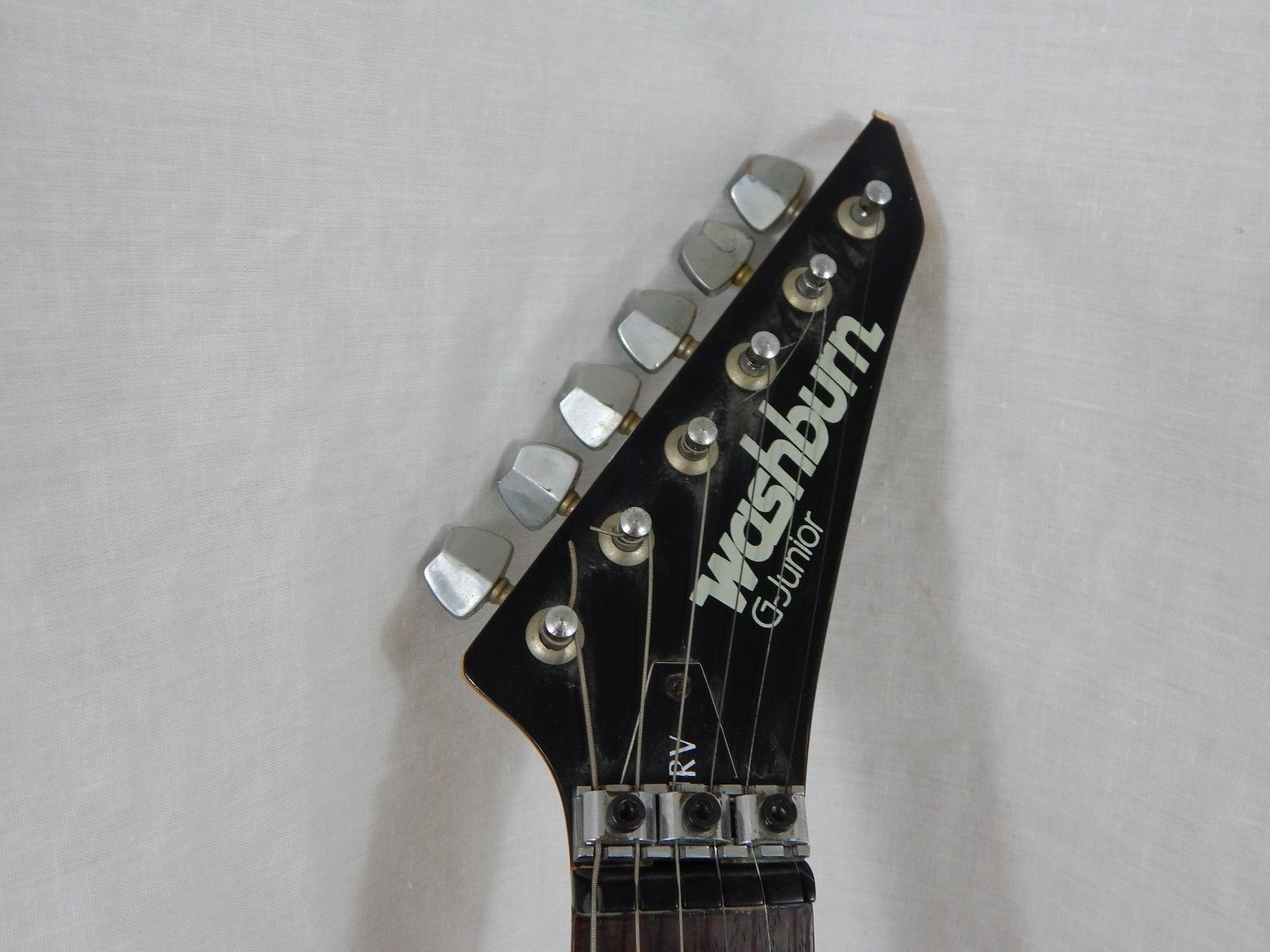 Washburn G Junior Red Electric Guitar Used As Is For Parts Or Repair Need To Know The Of Only