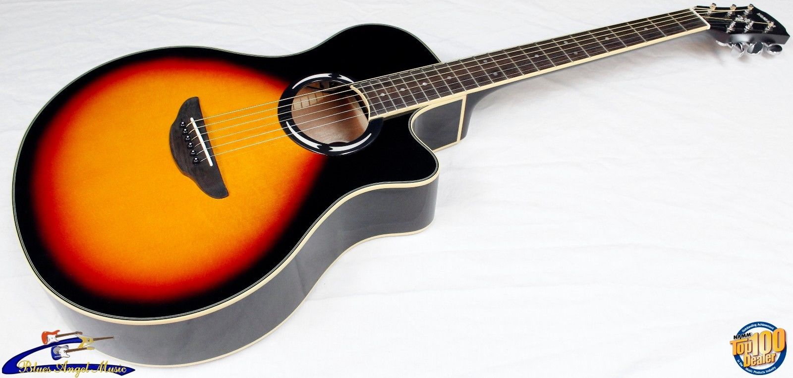 yamaha apx500iii thinline cutaway acoustic electric guitar vintage sb 27471 guitar of china. Black Bedroom Furniture Sets. Home Design Ideas