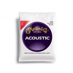 NEW – Martin M540 Phosphor Bronze 12-54 Light Acoustic Guitar Strings