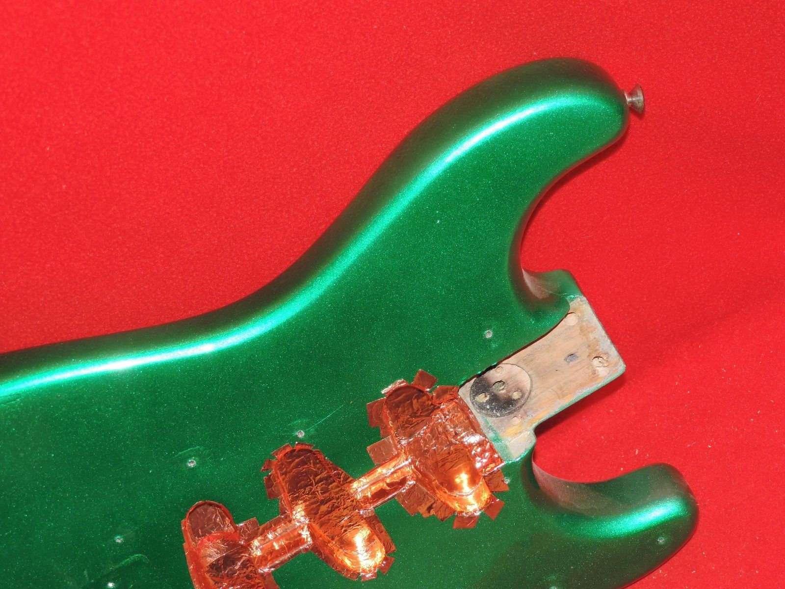 Fender 1978 Candy Green American Stratocaster Ash Body