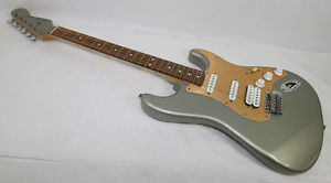 '05 Fender Guitar RARE Jade Pearl 50th Anniversary Stratocaster HSS Brushed Gold