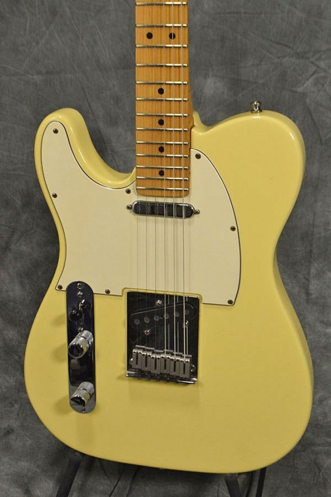 Fender AMERICAN STANDARD TELECASTER LEFT HAND MAPLE Vintage White Electric