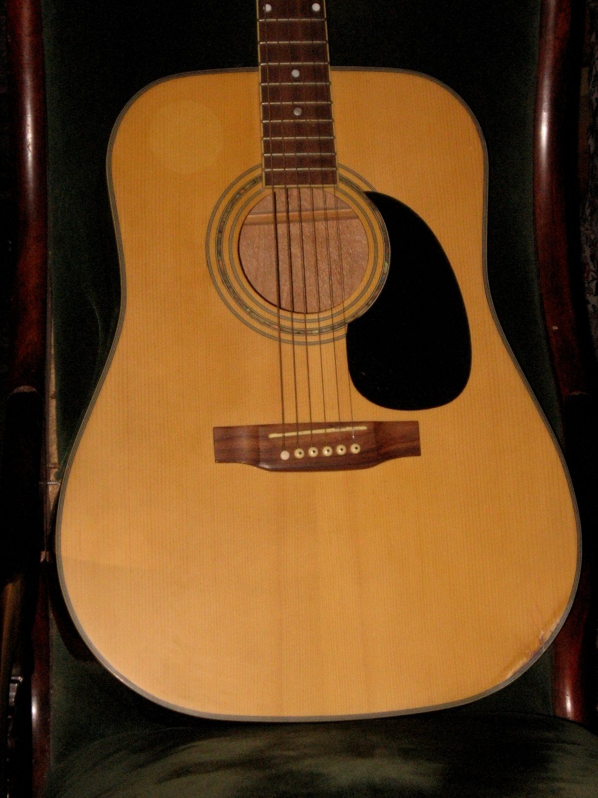 **Finely Made Acoustic FLAT TOP GUITAR by Hofner, Germany with Case, NICE**