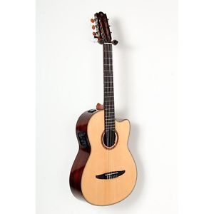 Yamaha NCX900 Acoustic-Electric Classical Guitar Natural 888365819501