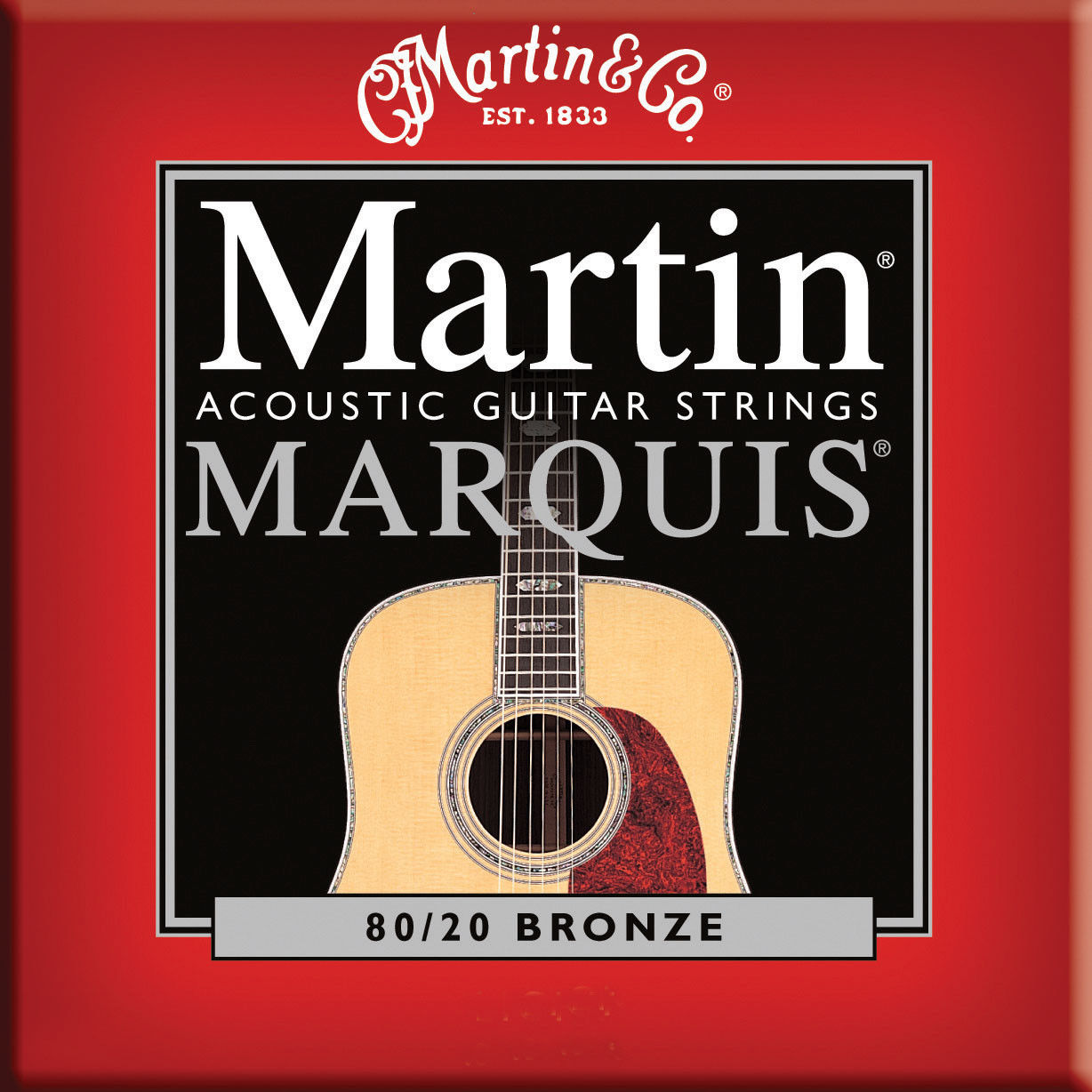 ** 3 SETS – MARTIN MARQUIS M1100 ACOUSTIC GUITAR STRINGS LIGHT 80/20 BRONZE**