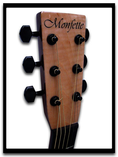 Monfette Guitar – Mahogany Dreadnought