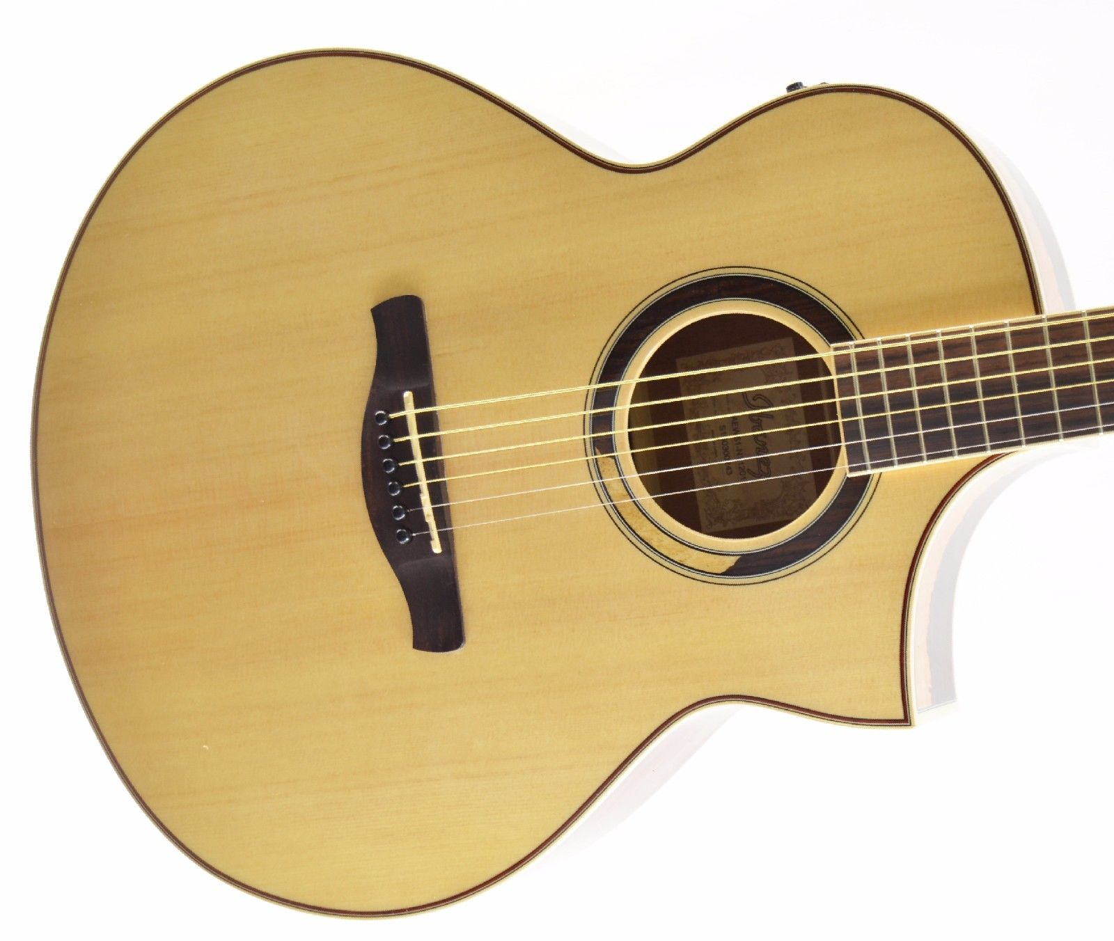 *NEW* Ibanez AEW51 Exotic Tonewood Acoustic Electric Guitar – Natural (A)