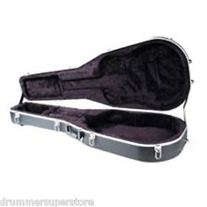 hardshell acoustic guitar case abs molded plush lined fits dreadnought cutaway guitar of china. Black Bedroom Furniture Sets. Home Design Ideas