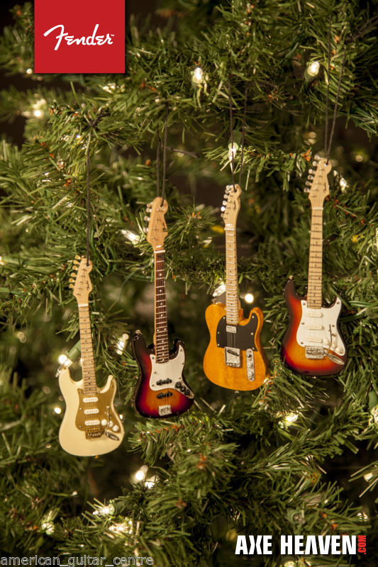 Fender 50s Blonde Stratocaster Christmas Decoration