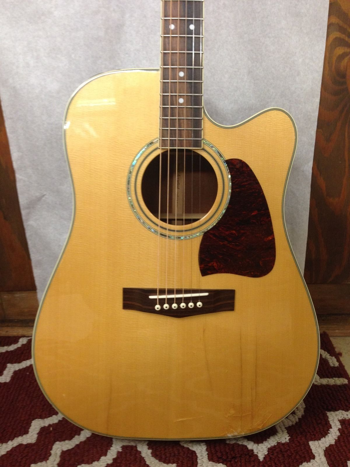ibanez aw100ce acoustic electric guitar guitar of china. Black Bedroom Furniture Sets. Home Design Ideas