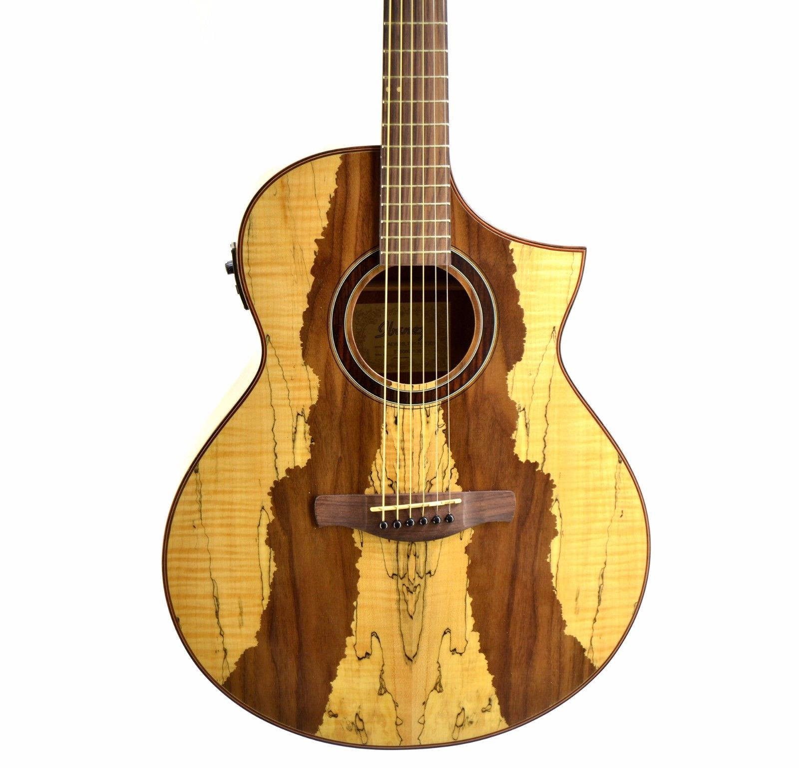 Ibanez Aew16ltd1 Limited Edition Exotic Wood Series Acoustic Electric Guitar B
