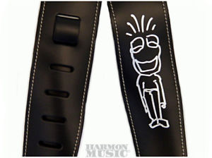 ! Joe Satriani Leather Guitar Strap Frog Man Ibanez JS 25LS-JS1 !