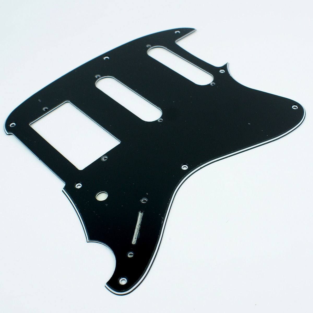 (F28) Replacement Guitar pickguard for Ibanez Talman TC-740 ,3ply Black