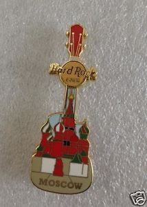 HARD ROCK CAFE MOSCOW CATHEDRAL GUITAR PIN