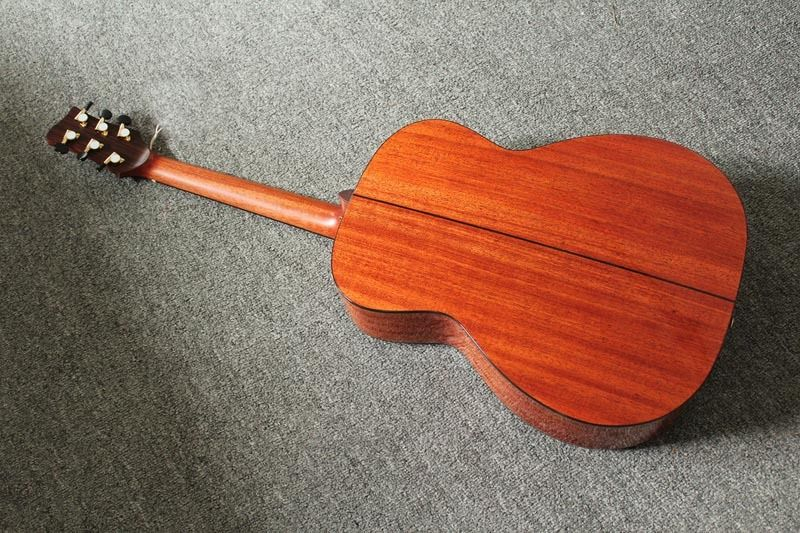 New brand acoustic guitar with fanned frets by handcraft with bag