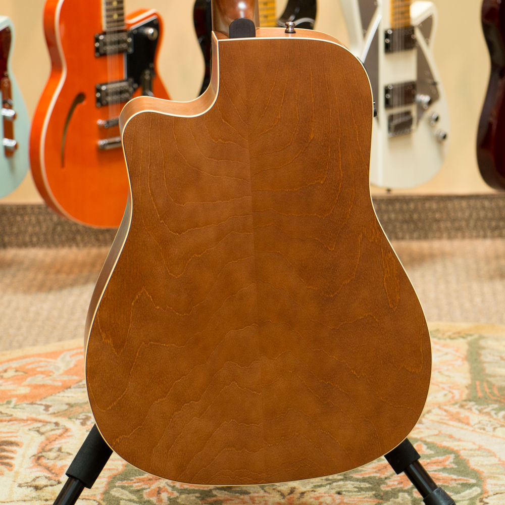 Used Art & Lutherie Dreadnought Acoustic Guitar CW Cedar Antique Burst with QI