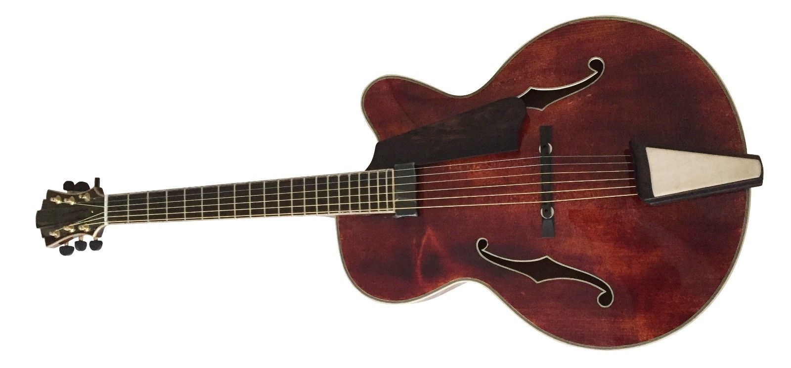 16inch archaizeed color handmade solid wood jazz guitar
