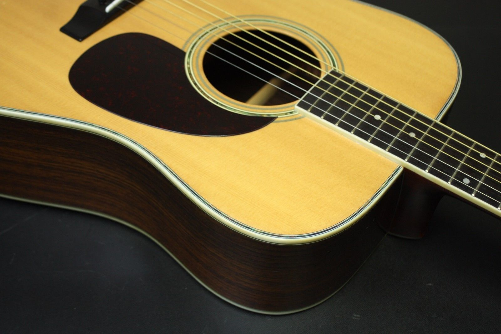 '80s MORRIS W-30 Japanese Vintage Acoustic Guitar w/Hard Case AS IS condition