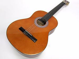 NYLON STRING ACOUSTIC CLASSICAL GUITAR w/ SPRUCE TOP – FULL SIZE, 10 Yr Warranty