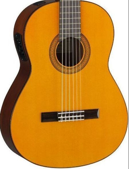 Yamaha CGX102 Acoustic-Electric Classical Guitar Natural