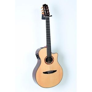 Yamaha NTX1200R Acoustic-Electric Classical Guitar Natural 888365826585