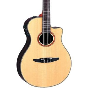 Yamaha NTX1200R Acoustic-Electric Classical Guitar Natural LN