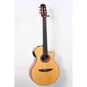 Yamaha NTX900FM Acoustic-Electric Classical Guitar Flamed Maple 888365675312