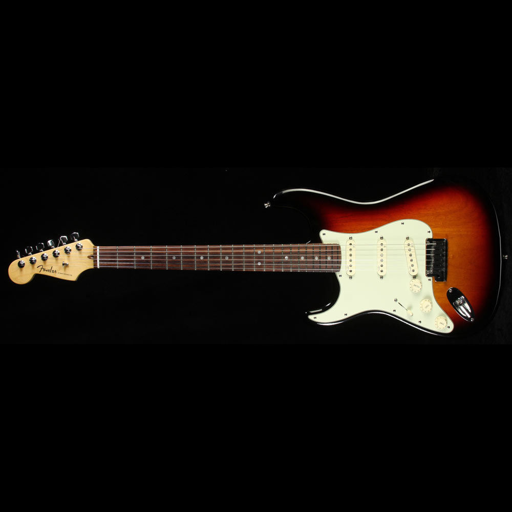 Used 2012 Fender American Deluxe Stratocaster Left-Handed Electric Guitar 2TS
